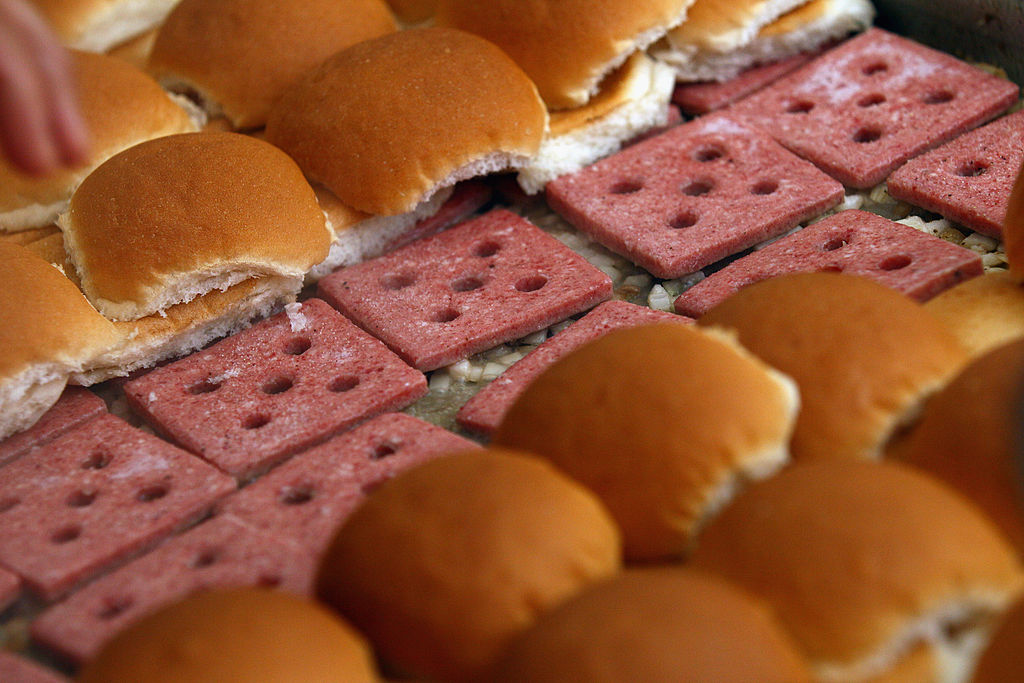 Fast Food Restaurant White Castle Celebrates Its 90th Anniversary On Capitol Hill