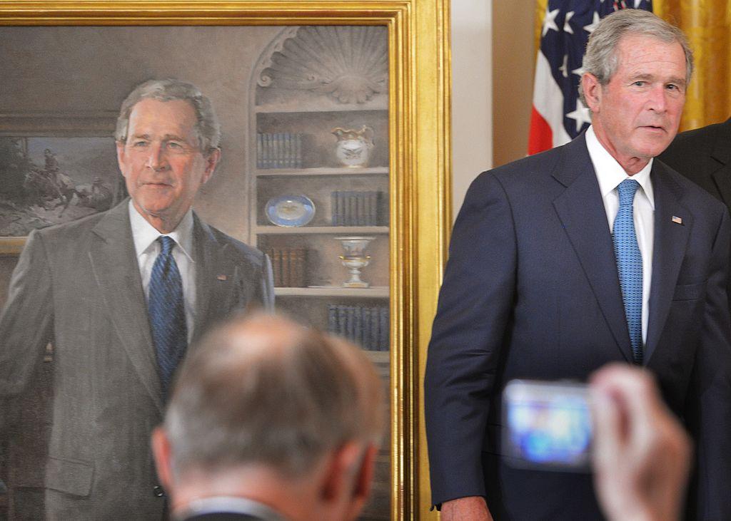 Former US president George W. Bush