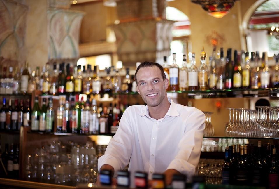 Friendly bar tender