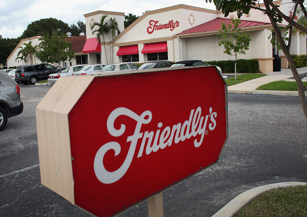 Friendly's Restaurant Chain Files For Bankruptcy