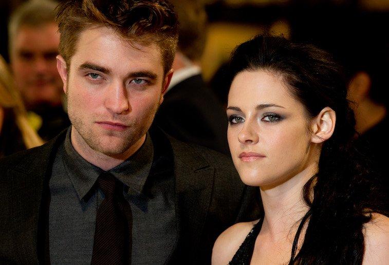 Robert Pattinson, Kristen Stewart attend the UK premiere of The Twilight Saga: Breaking Dawn Part 1