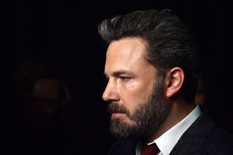 "US actor and director Ben Affleck attends the premiere of ""Live by Night"""