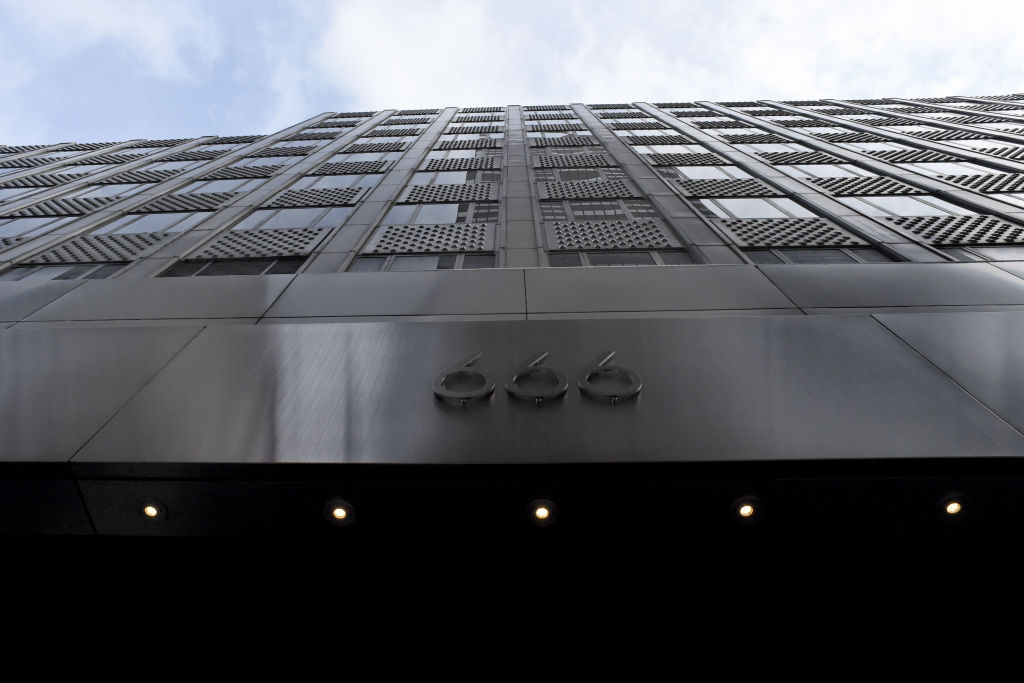 666 Fifth Ave. in Manhattan