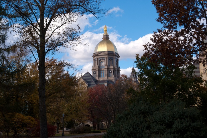 Golden Dome at the University of Notre Dame
