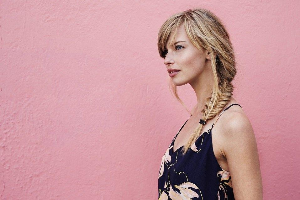 Gorgeous blond woman