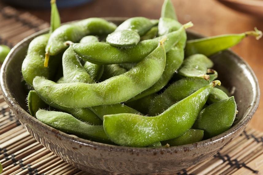 Green Organic Edamame