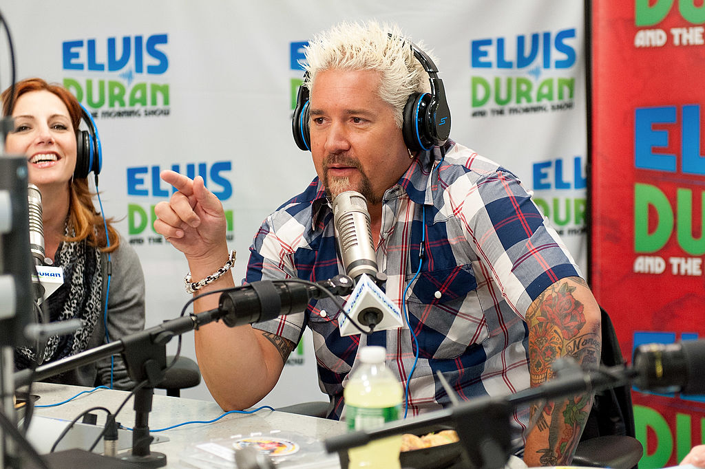 Guy Fieri Visits Elvis Duran Z100 Morning Show