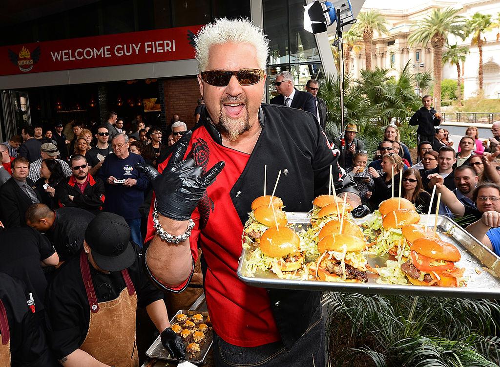 Guy Fieri's Vegas Kitchen & Bar Welcome Event
