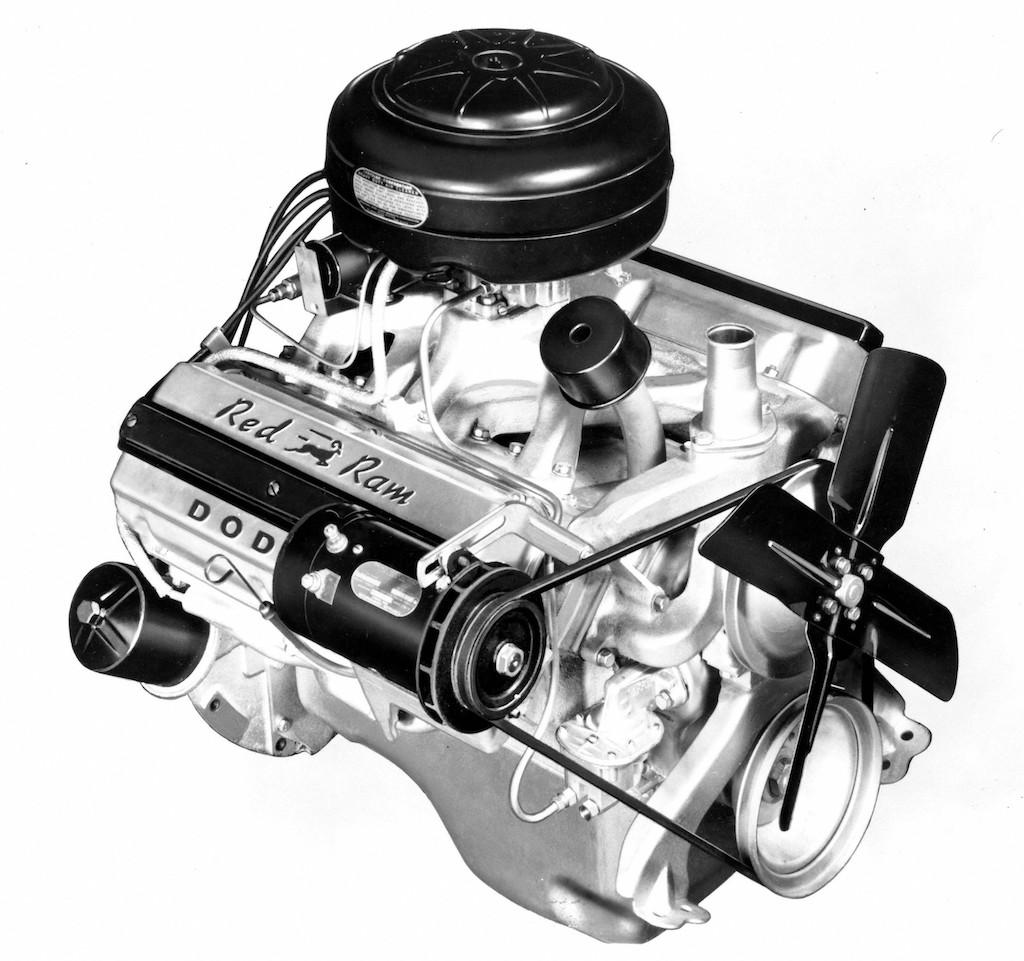 "1956 Dodge ""Red Ram"" Hemi V8"