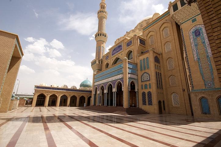 Hayat Mosque, Arbil, Kurdistan, Iraq