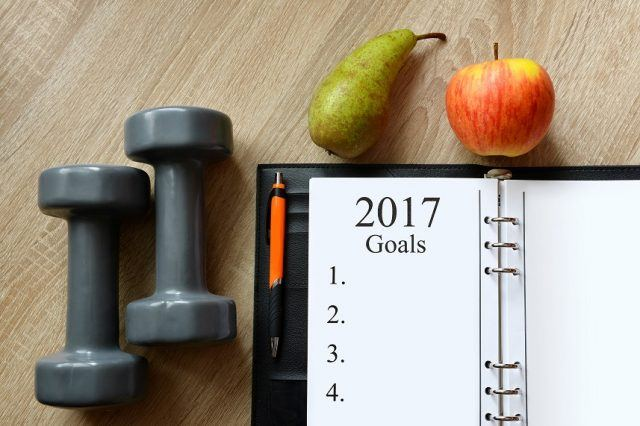 Start with a goal to diet successfully.