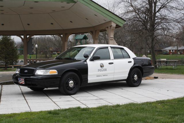 Hobart Police Department car