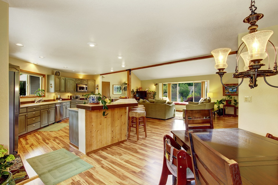 Home interior floor plan