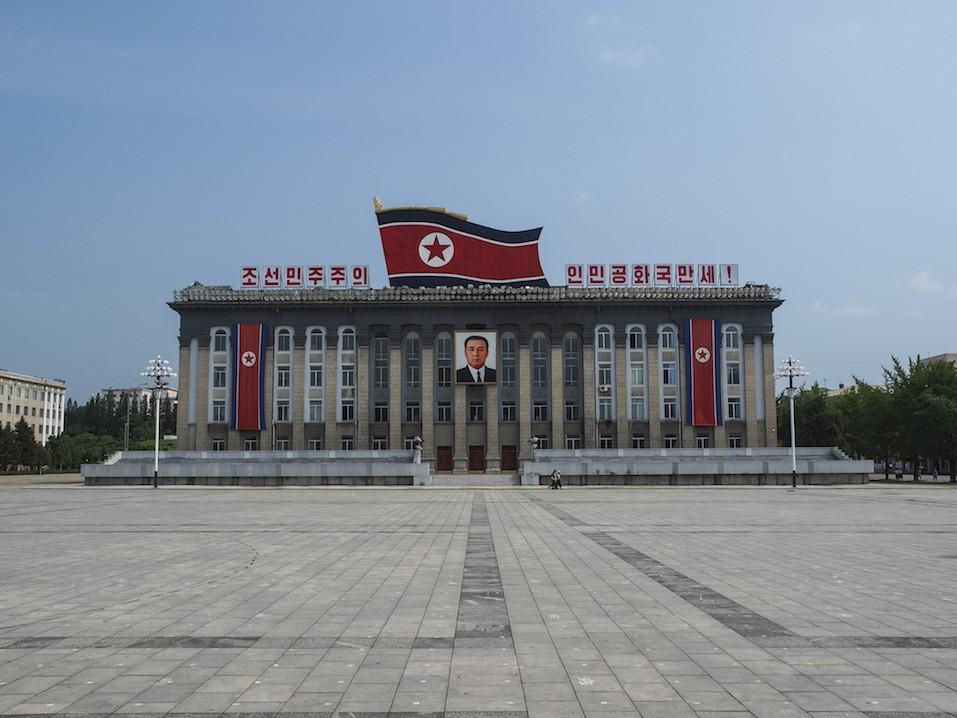 Kim Il-Sung Square, Pyongyang North Korea