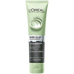 Deep-Cleaning Beauty Products For Flawless Skin L'Oréal Paris Pure-Clay Detox & Brighten Cleanser