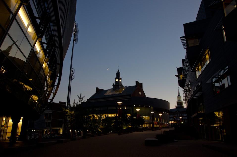 Main Street at the University of Cincinnati