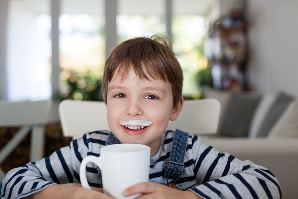 Moustache breakfast fun