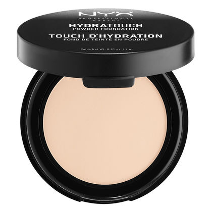 Affordable Drugstore Beauty Products NYX Cosmetics Hydra Touch Powder Foundation