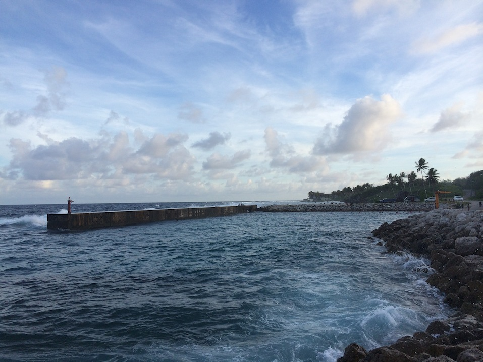 The Republic of Nauru's only boat harbour