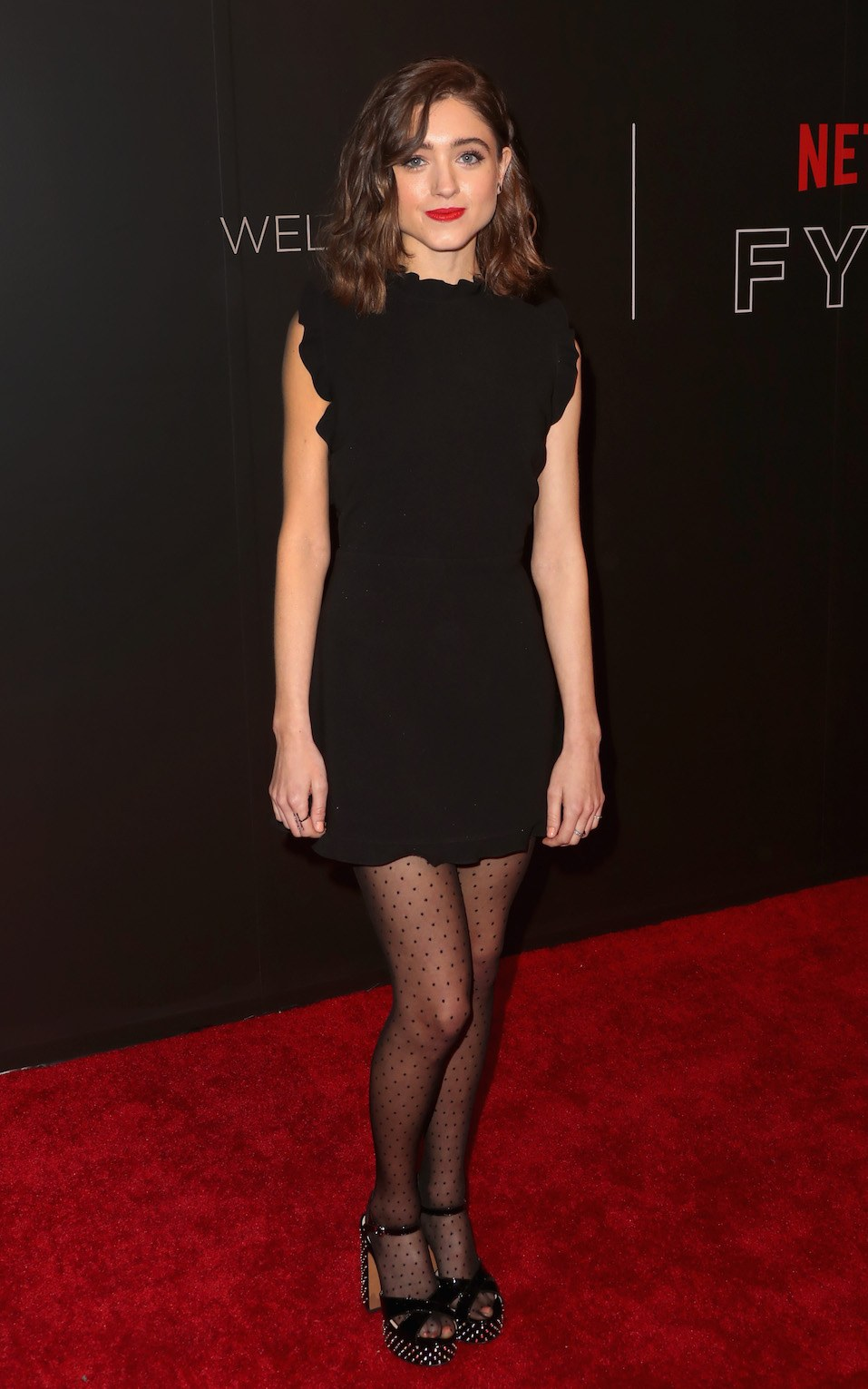 Natalia Dyer arrives at the Netflix FYSee Kick Off Event