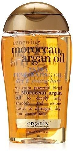 Affordable Drugstore Beauty Products OGX Organix Moroccan Argan Oil Penetrating Oil