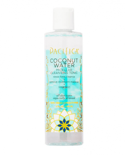Affordable Drugstore Beauty Products Pacifica Coconut Water Micellar Cleansing Tonic