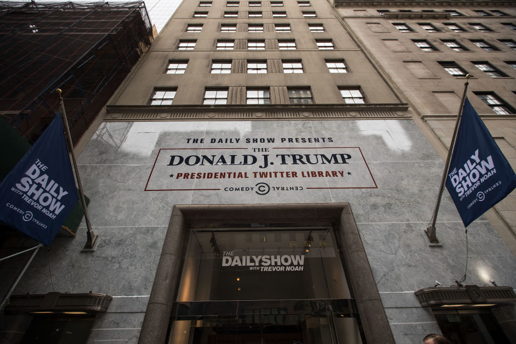 Parody Trump Presidential Library Opens In Midtown Manhattan