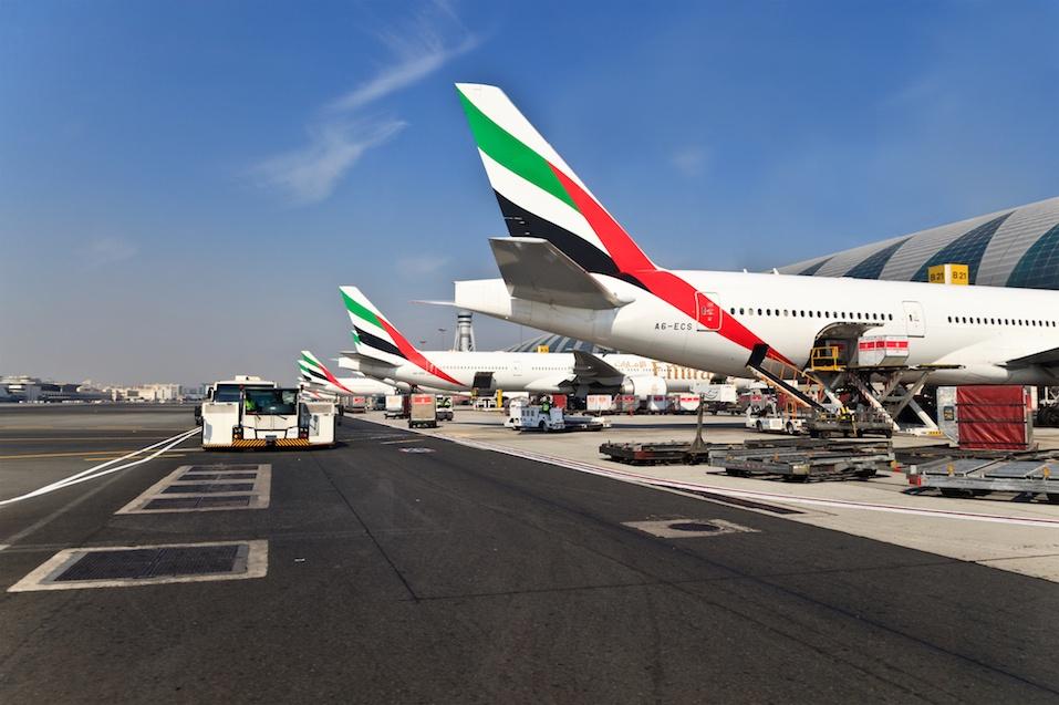 Emirates airlines planes