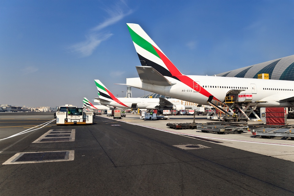 Emirates airlines planes