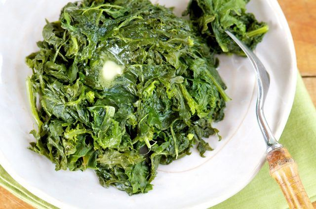 Collard greens are best paired with other leafy vegetables.