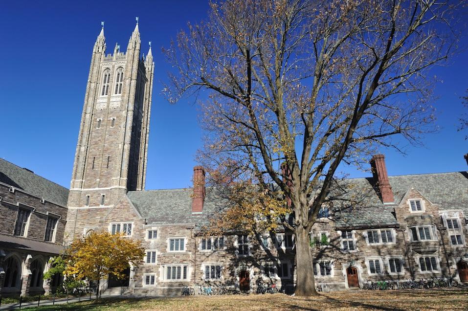 Madison Hall of Rockefeller College in Princeton University.