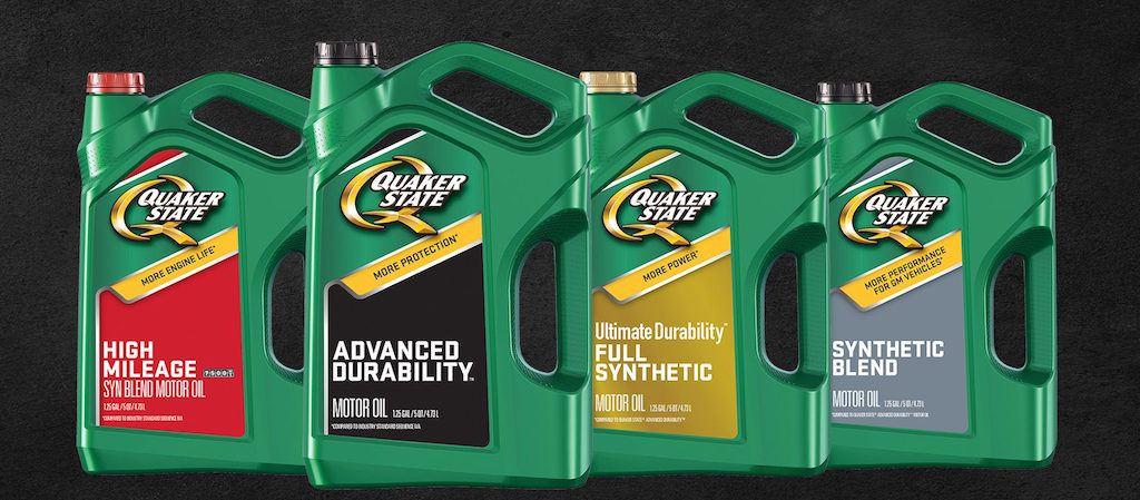 Quaker State oils