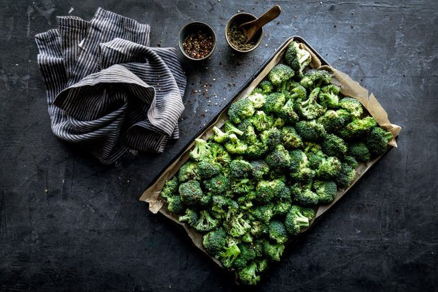 Broccoli is a high-protein vegetable.