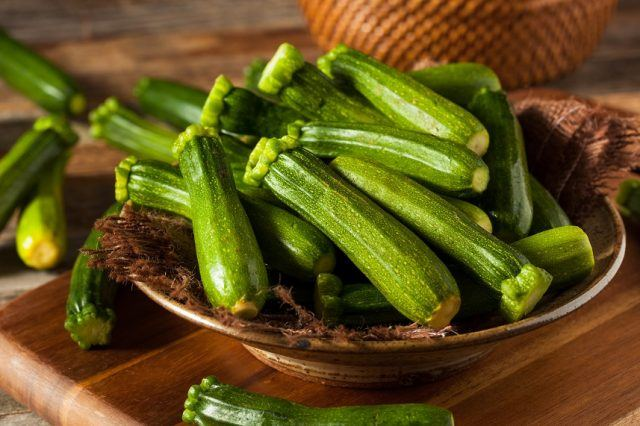 Zucchini is rich in vitamins and minerals.
