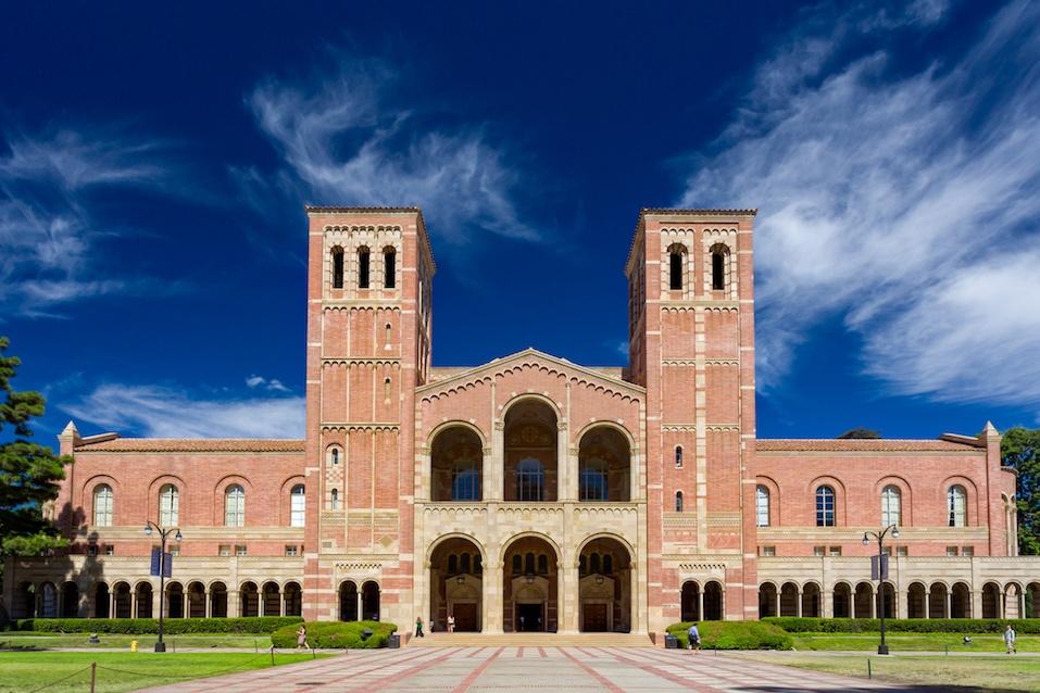Royce Hall at University of California Los Angeles