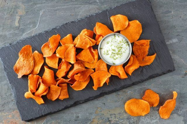 These chips are so healthy, there's room left over for dip.