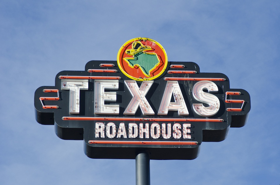 Texas Roadhouse Neon Sign
