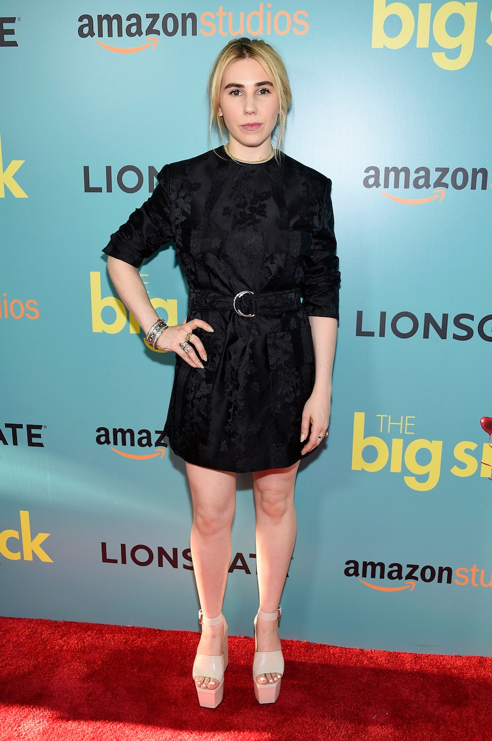 "Zosia Mamet attends ""The Big Sick"" New York Premiere"