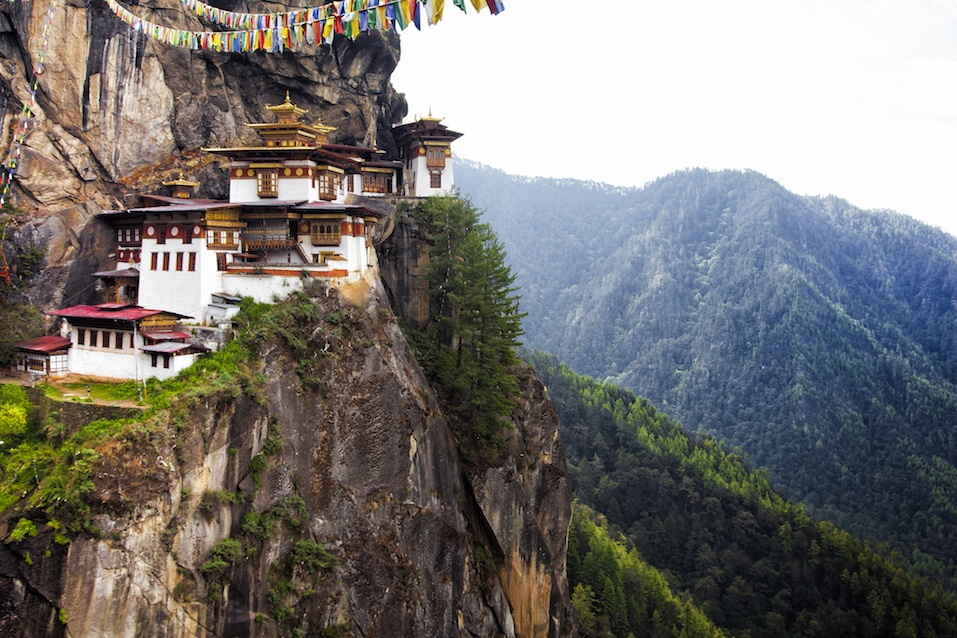 Tiger's Nest at Paro Bhutan