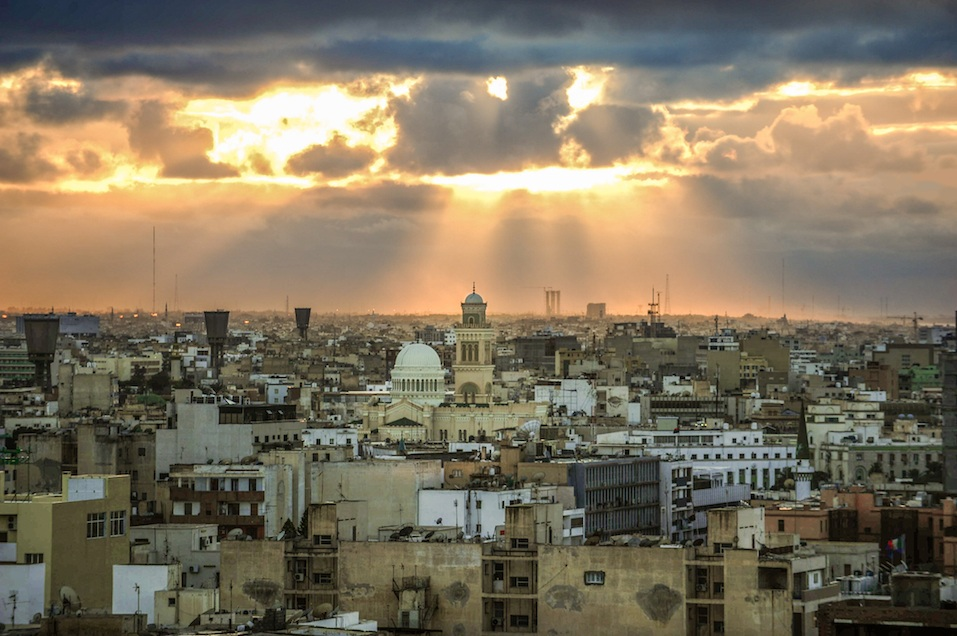 Tripoli skyline, Libya