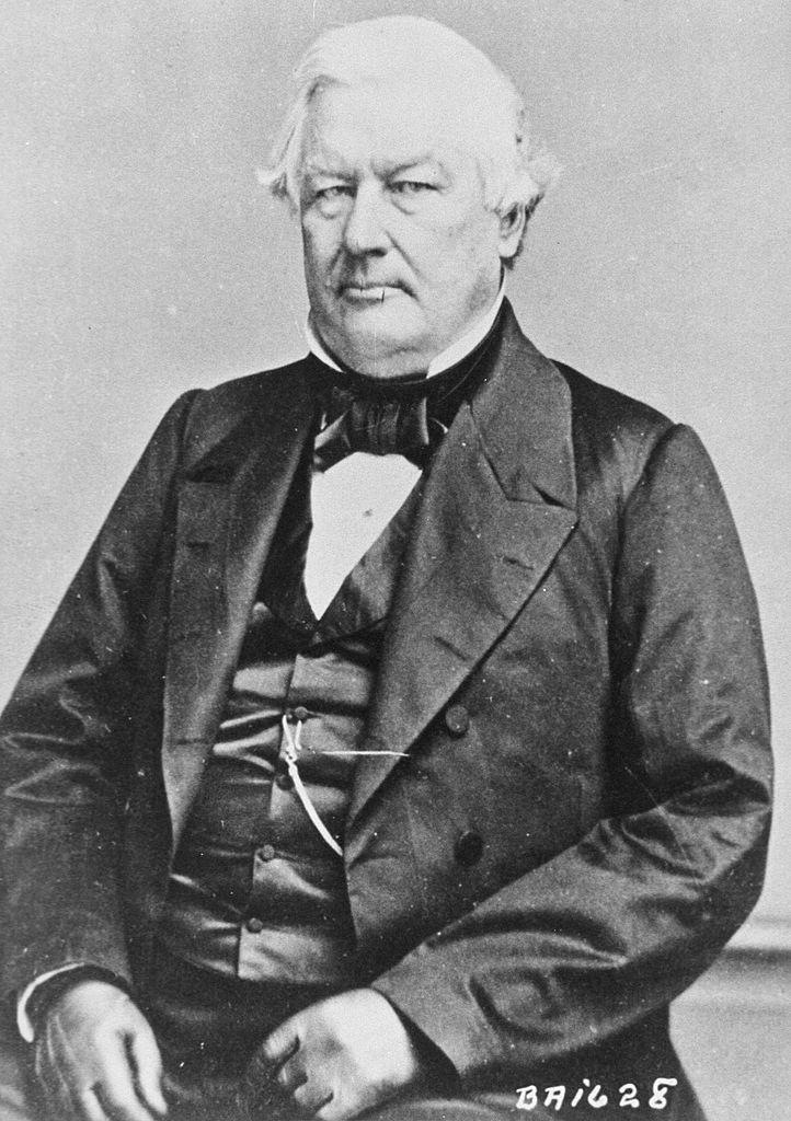 13th U.S. President Millard Fillmore