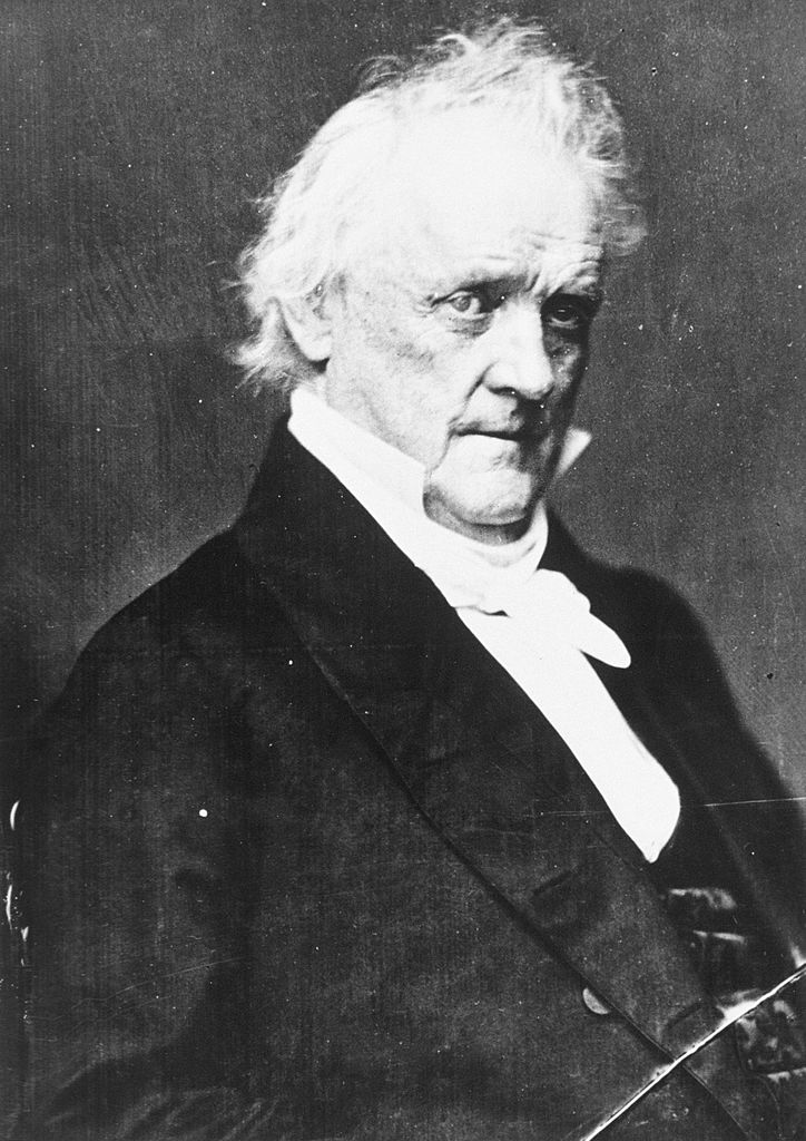 15th U.S. President James Buchanan