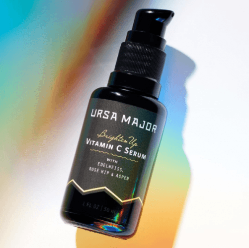An all-natural vitamin C facial serum from Ursa Major