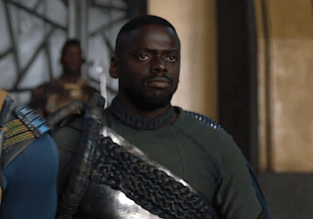 Daniel Kaluuya's W'Kabi stands in armor in Black Panther
