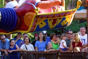 The Secret to Making Your Wait in Line at Disney Fly By