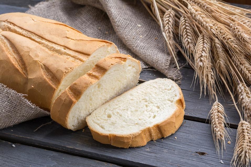 Fresh bread with wheat ears