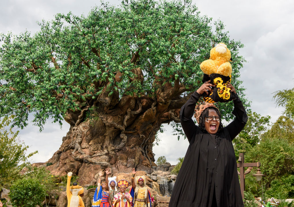 Whoopi Goldberg gets in on the action at Disney World