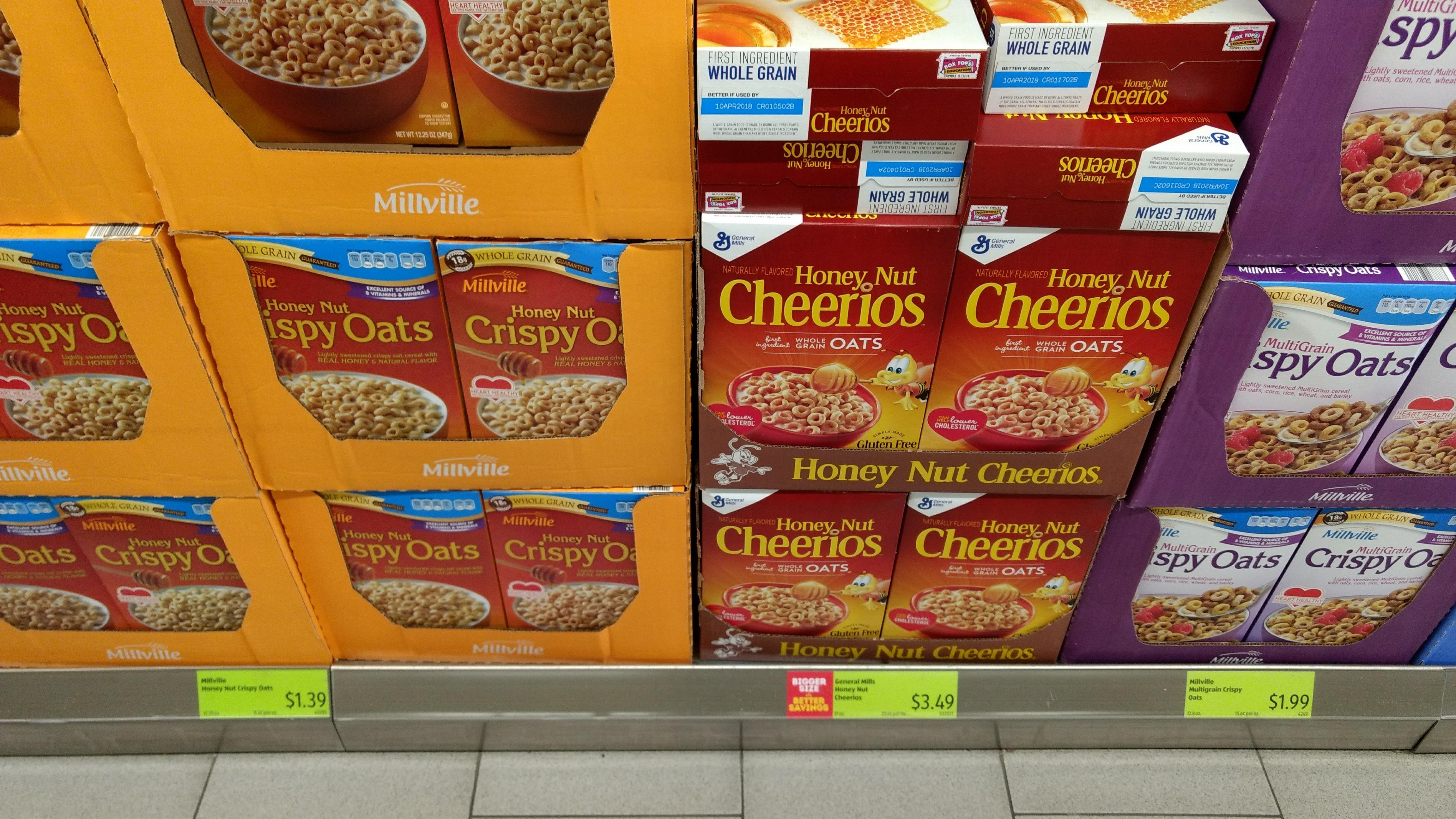 cereals at aldi