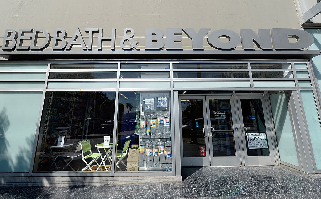 Bed Bath & Beyond takes on a new modern look.