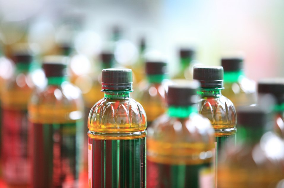 bottles of chinese herbal tea